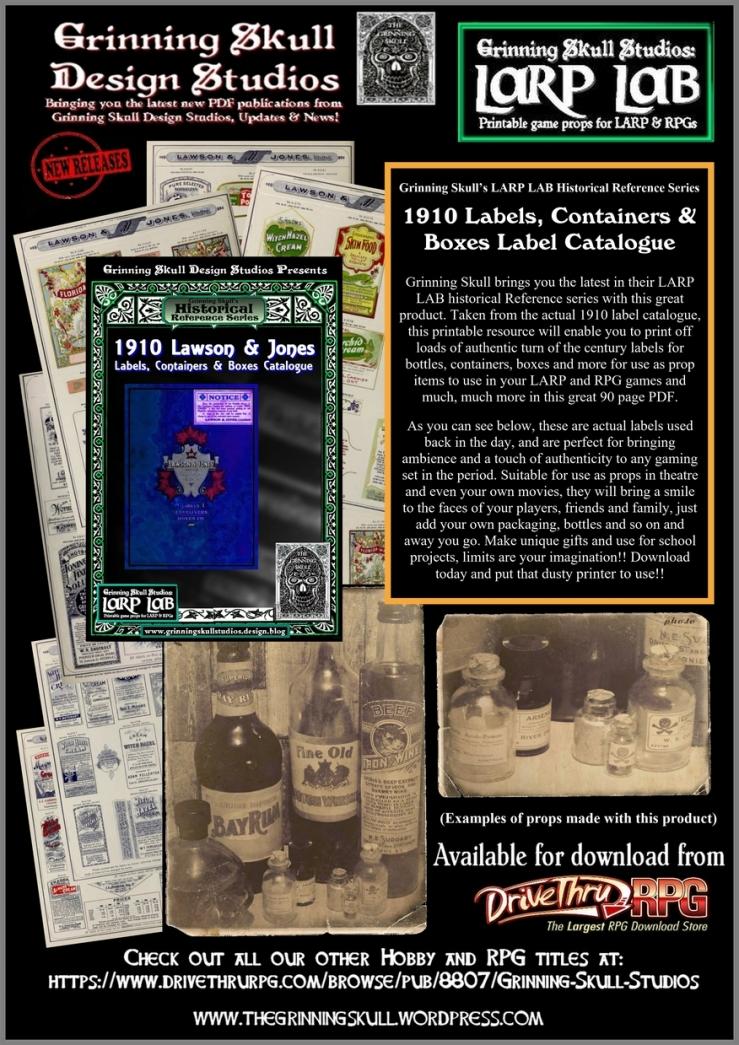 label catalogue advert promo1 smallerA